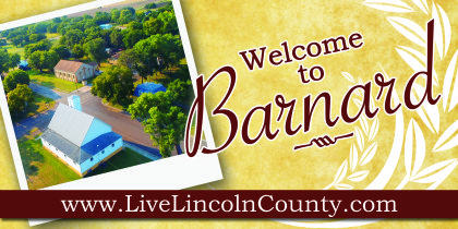 Barnard Welcome Sign