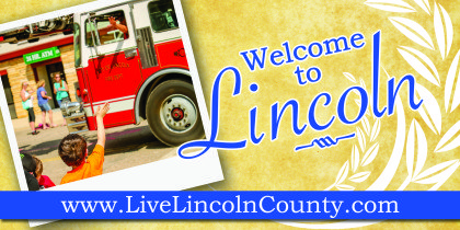 Lincoln Welcome Sign