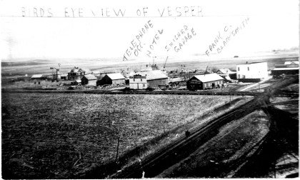 A historic photo of Vesper during its heyday.