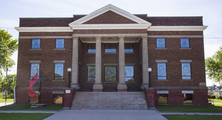 Lincoln United Methodist Church in Lincoln, Kansas
