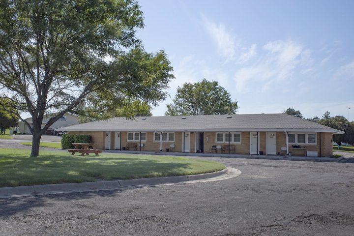 Post Rock Motel in Lincoln, Kansas