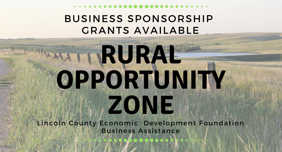 Rural Opportunity Zone Business Sponsorship Grants