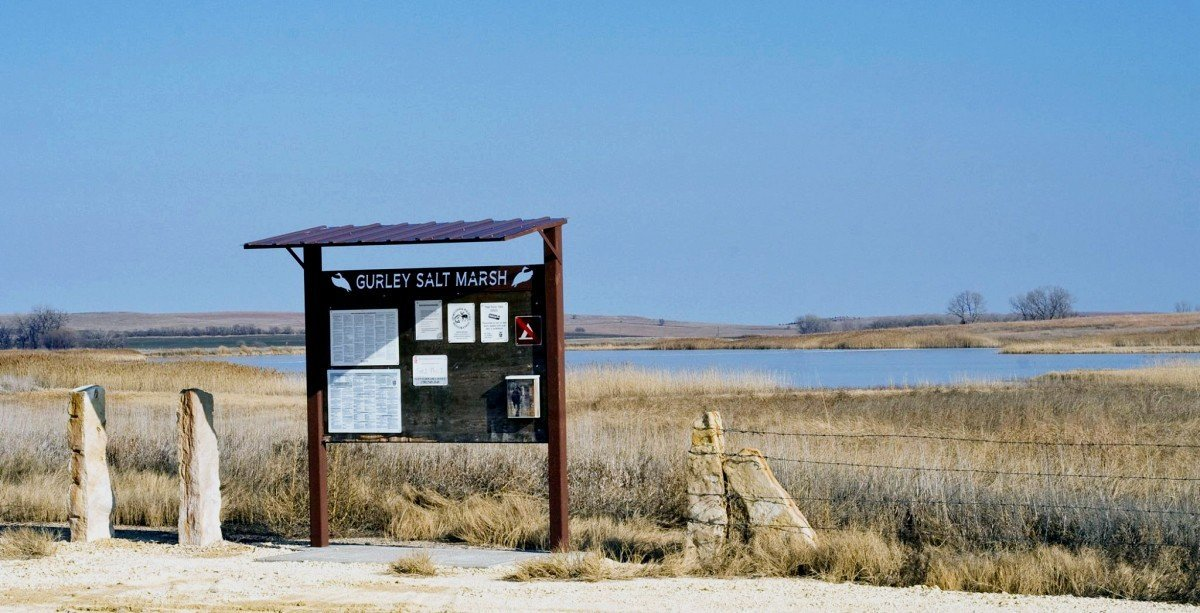 Gurley Salt Marsh in Lincoln County, Kansas