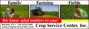 Crop Service Center ad