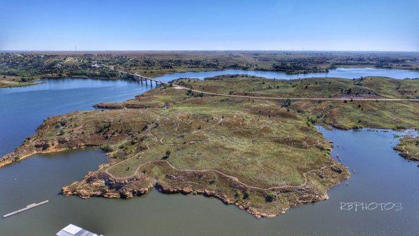 Wilson Lake birds-eye view