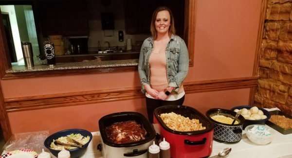 Catering with Grace cutlines: Catering with Grace, founded by Alisha DeWitt, has been providing catering services to Lincoln County since August 2017.