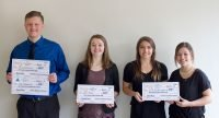 Winners of the first Lincoln County entrepreneurship competition