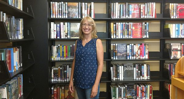 Mary Anderson is the new director at the Lincoln Carnegie Library following Nancy Jensen's retirement.