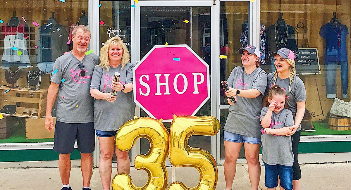Seirer's Clothing is celebrating 35 years of business in downtown Lincoln.
