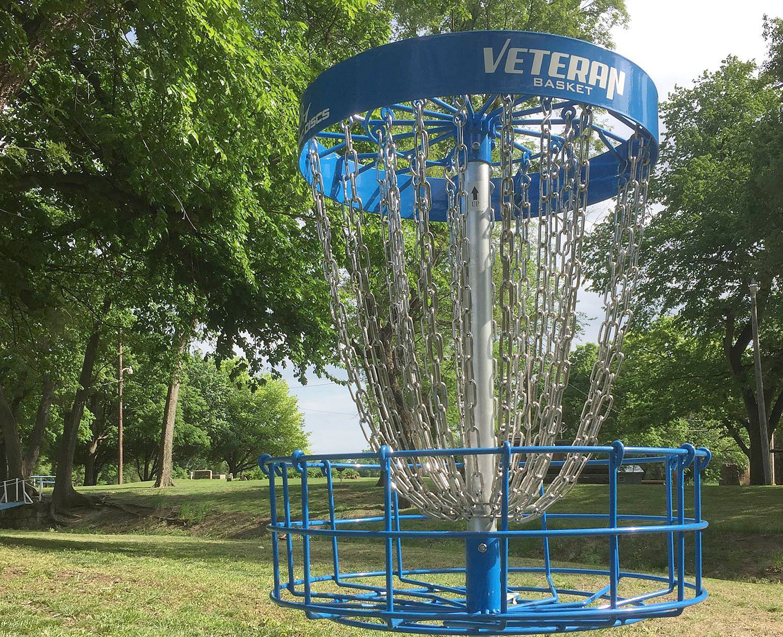 Disc golf course in Lincoln, KS
