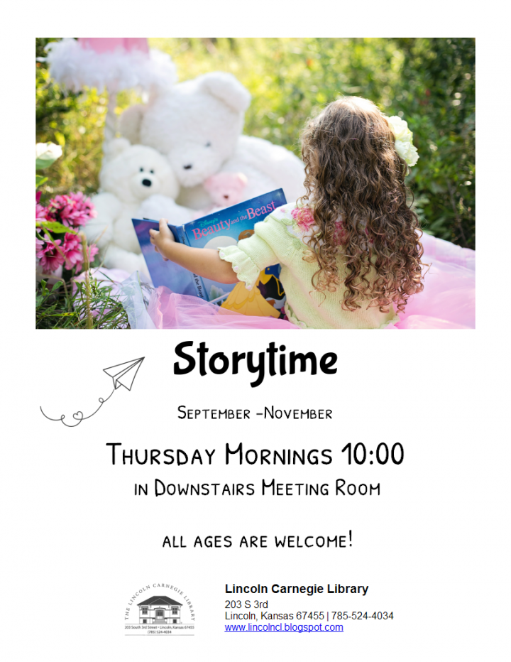 Storytime @ Lincoln Carnegie Library