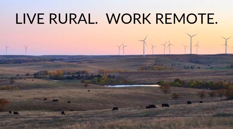 live rural work remote
