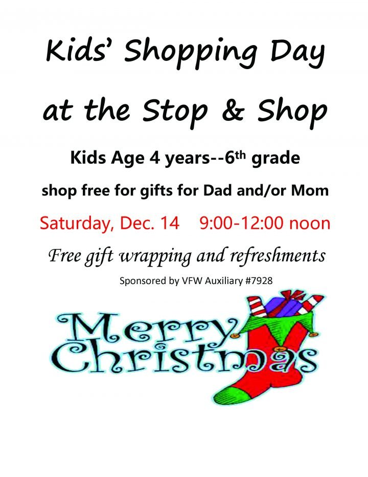 Kids Shopping Day @ Stop & Shop