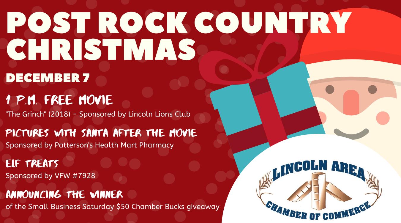 Post Rock Country Christmas 2019 Lincoln, KS