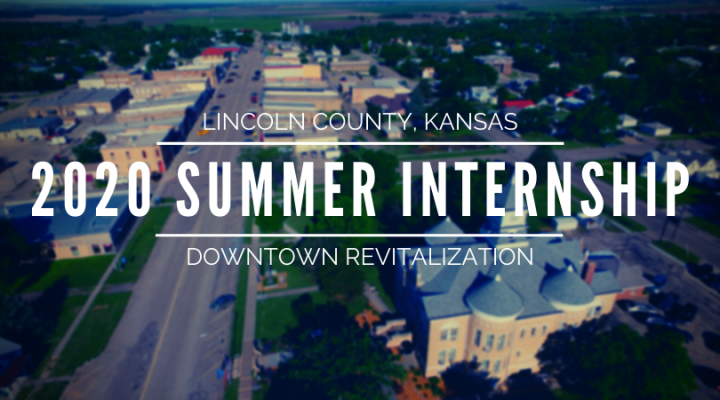 downtown revitalization summer internship