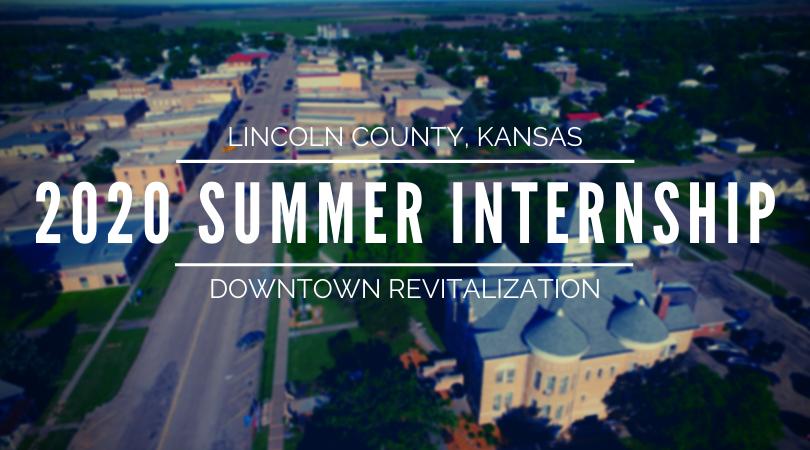 downtown revitalization summer internship