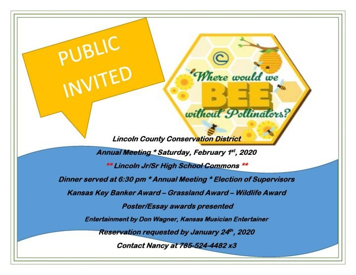 Conservation Annual Meeting @ Lincoln Jr Sr High School