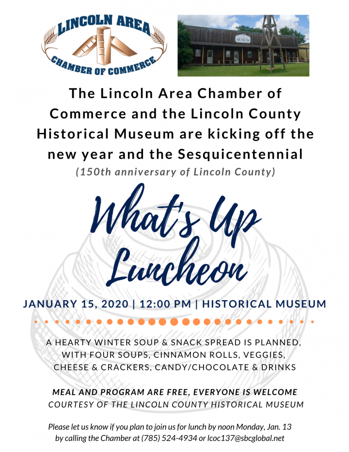 What's Up Luncheon @ Lincoln County Historical Museum