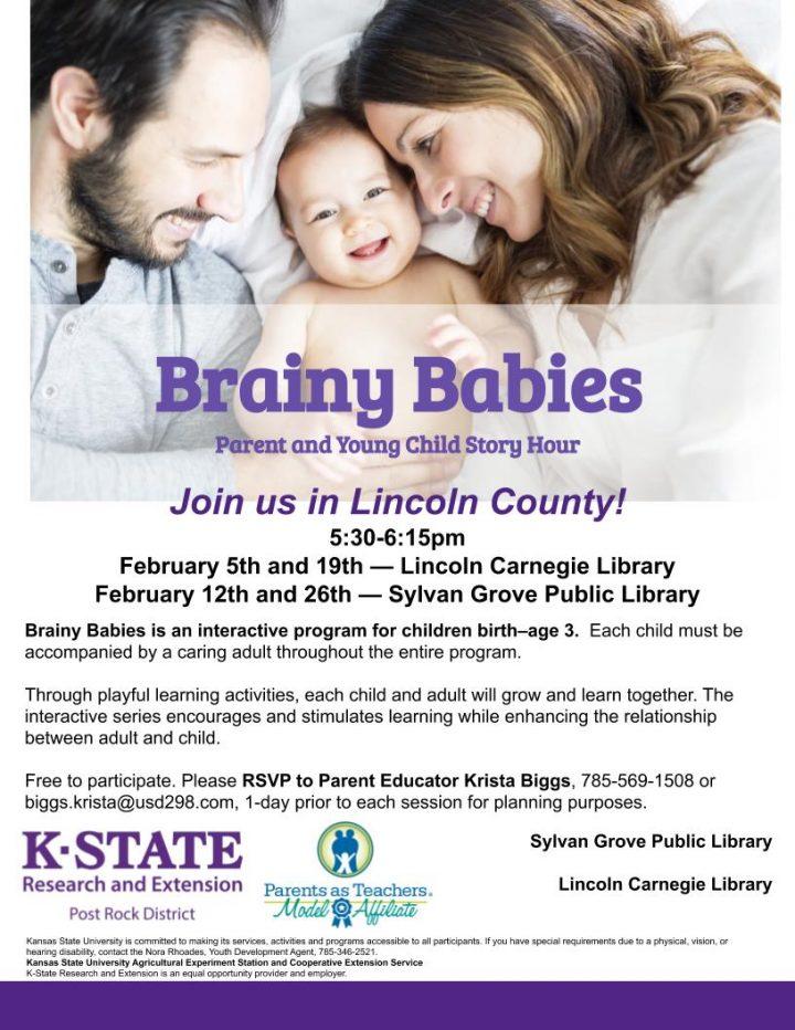 Brainy Babies @ Sylvan Grove Public Library