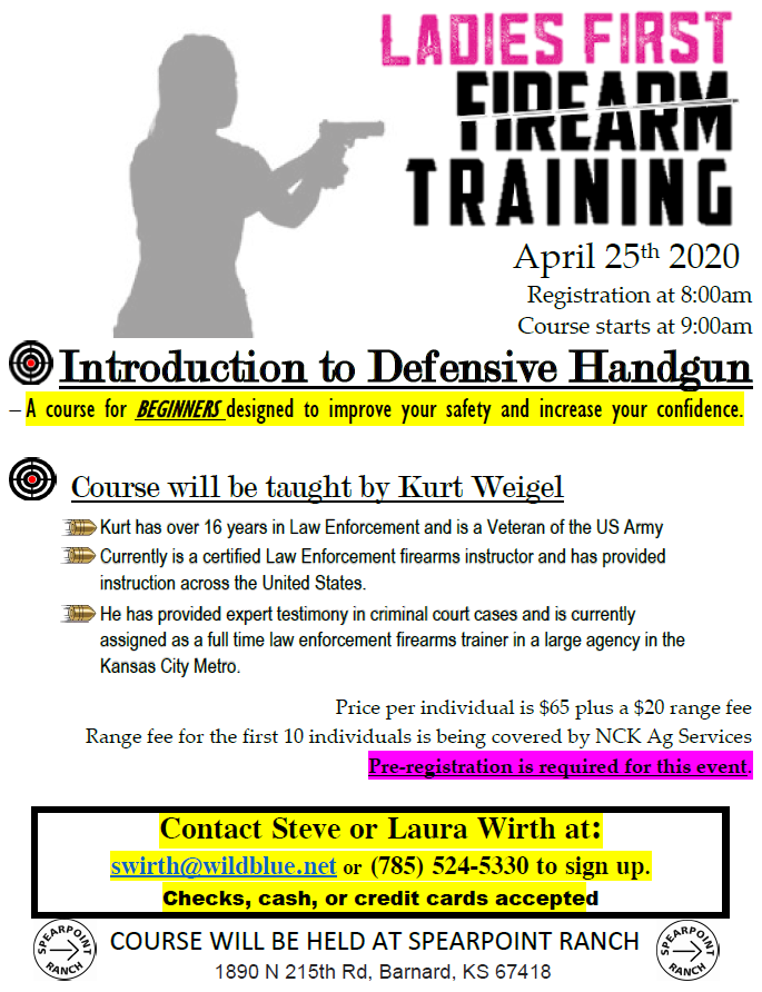 Women-Only Introduction to Defensive Handguns