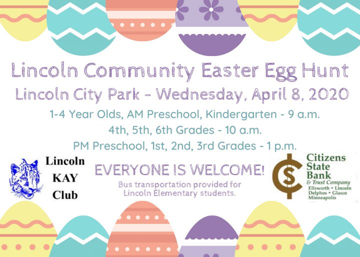 CANCELLED - Easter Egg Hunt @ Lincoln City Park