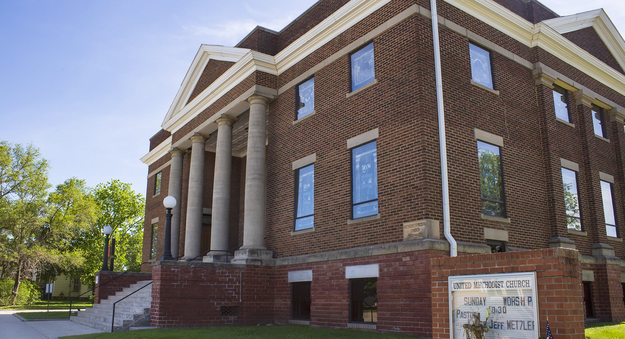 History of the Methodist Church in Lincoln County