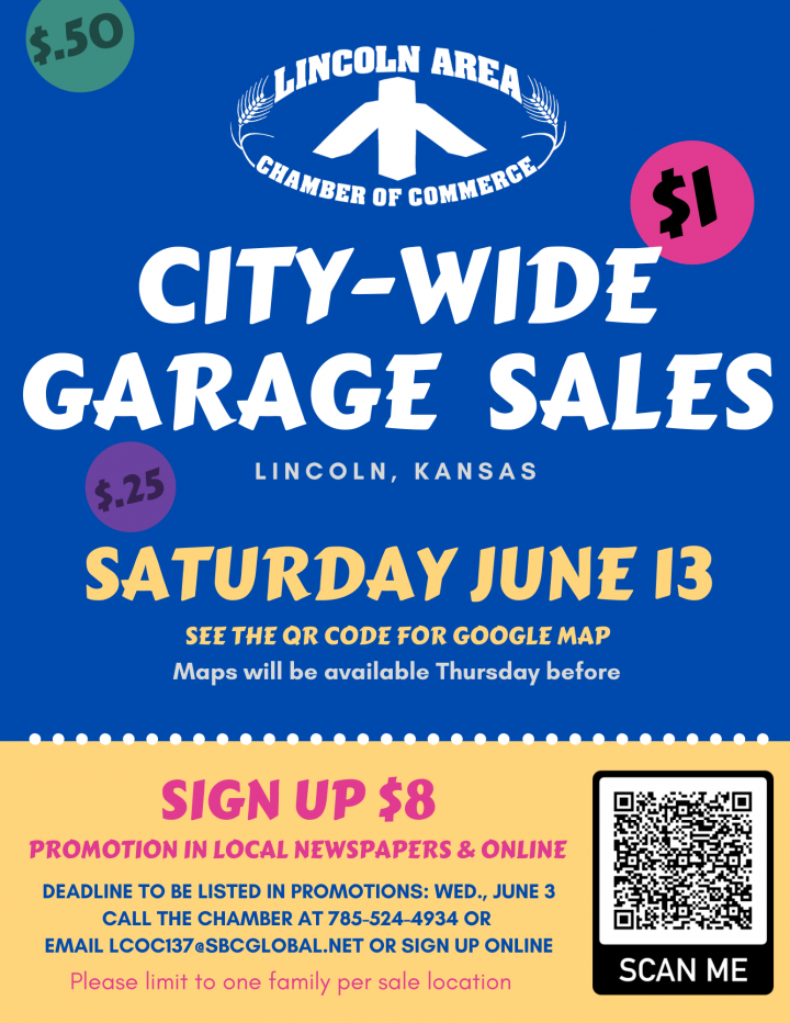 City-Wide Garage Sales @ City of Lincoln