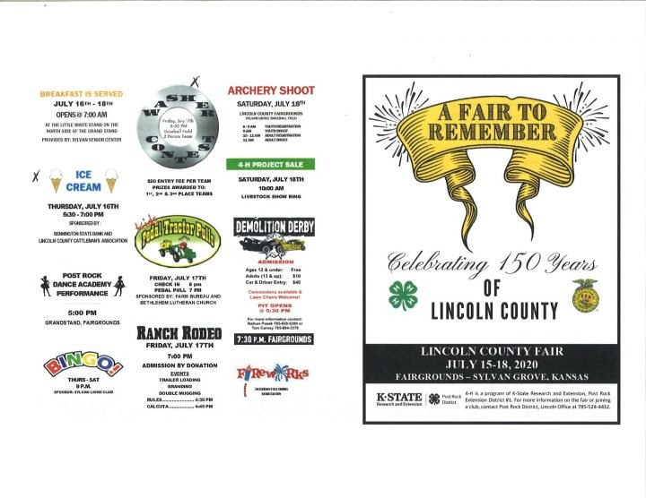 Lincoln County Fair @ Lincoln County-Sylvan Grove Fairgrounds