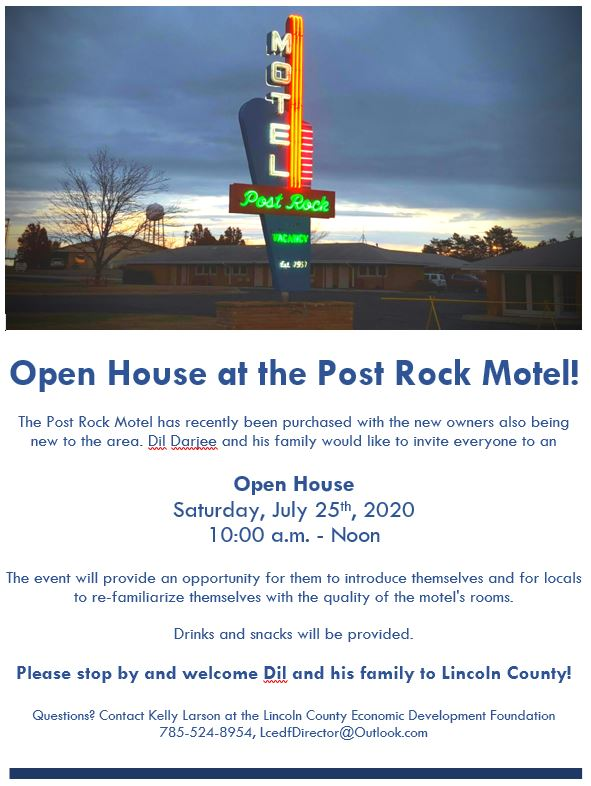 Open House @ Post Rock Motel