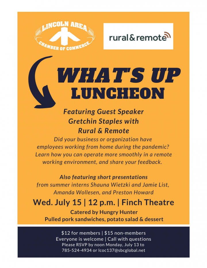 Chamber What's Up Luncheon @ Finch Theatre
