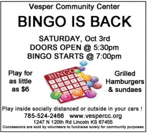 Bingo @ Vesper Community Center
