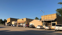 Downtown Sylvan Grove listed in the Register of Historic Kansas Places