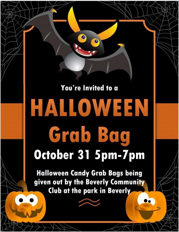 Halloween Grab Bag @ Beverly City Park