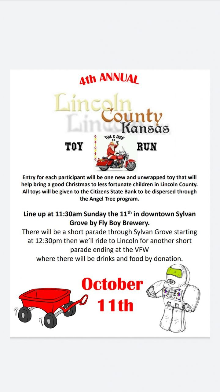 4th Annual Lincoln County Toy Run @ Fly Boy Brewery