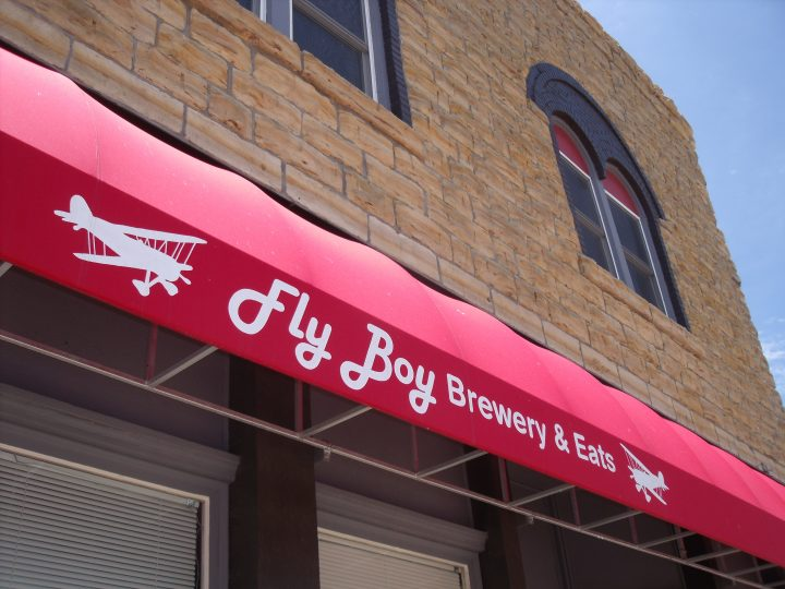 Fly Boy Brewery & Eats in Sylvan Grove, KS