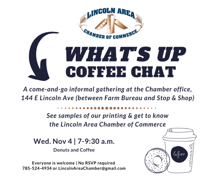 Chamber Coffee Chat @ Lincoln Area Chamber of Commerce
