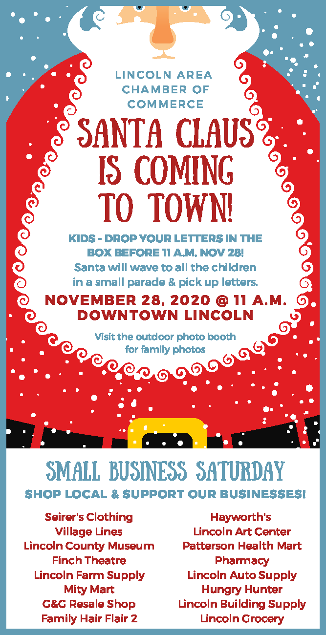 Small Business Saturday (and a visit from Santa) @ Downtown Lincoln