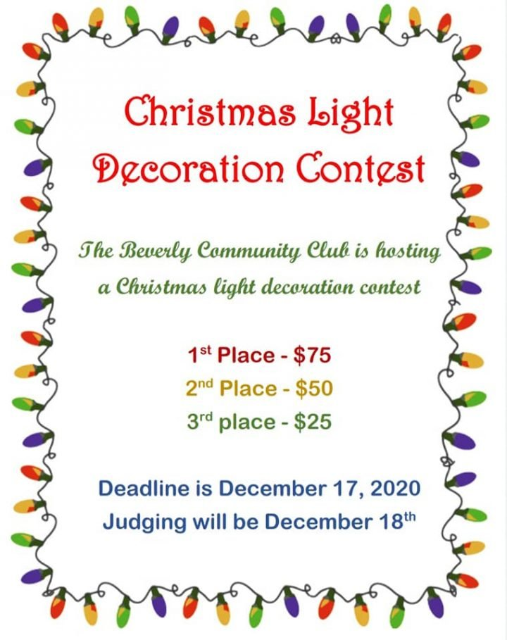 Christmas Light Decoration Contest @ Beverly (various locations)