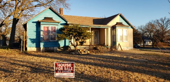 For Sale By Owner - 103 N 2nd Street, Lincoln, KS - 2 bedroom house with central air, basement and shed - $18,000