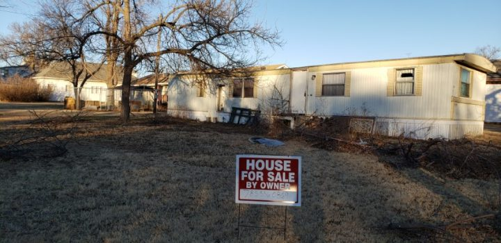 For Sale By Owner - 108 Rodman Street, Lincoln, KS - $8,000