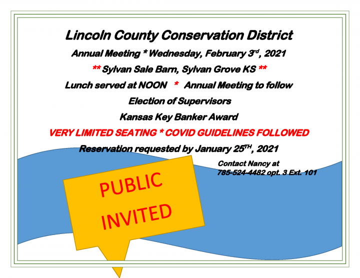 Lincoln Conservation District Meeting @ Sylvan Sales Commission Cafe
