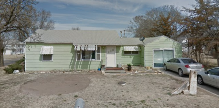 For Sale By Owner - 228 W South Street, Lincoln, KS - 2 bedroom with central air and garage - $45,000