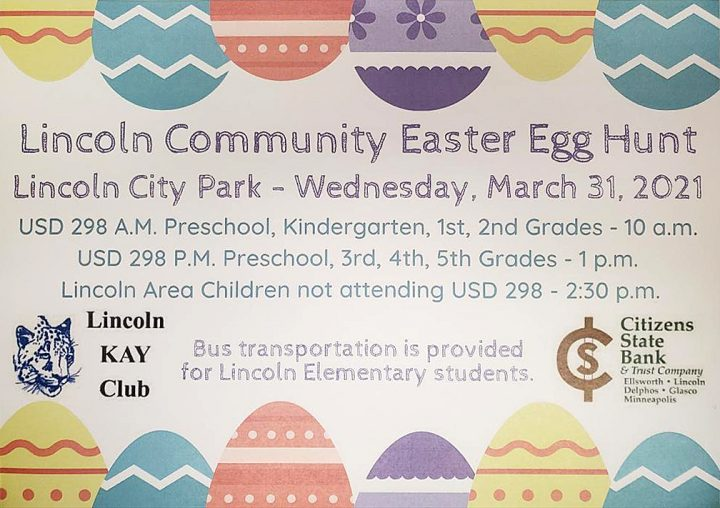 Easter Egg Hunt @ Lincoln City Park