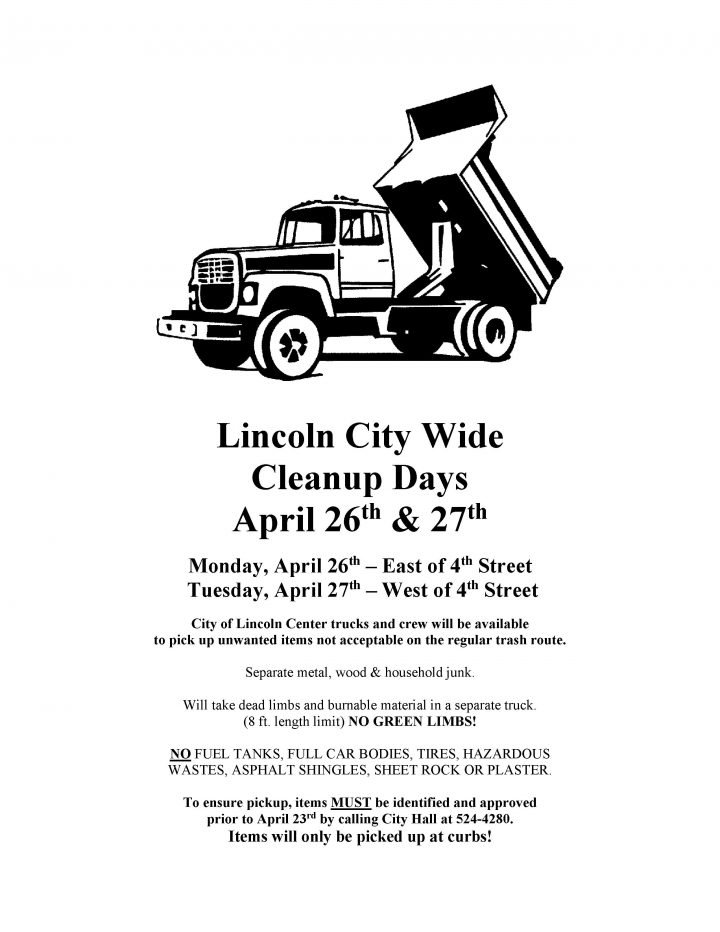 Lincoln City-Wide Clean Up @ Lincoln City Limits