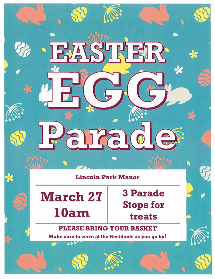 Easter Egg Parade @ Lincoln Park Manor