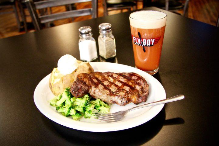 Fly Boy Brewery & Eats in Sylvan Grove, Kansas