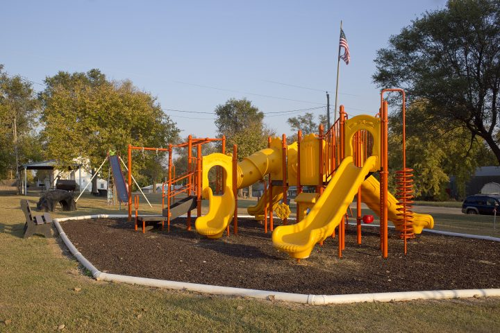 Beverly City Park playground