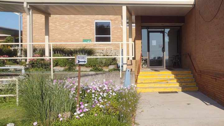Lincoln Medical Clinic on the east side of Lincoln County Hospital in Lincoln, Kansas