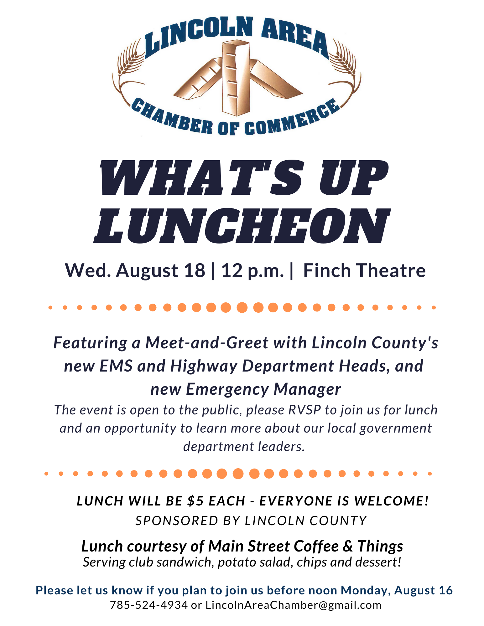 Chamber What's Up Luncheon
