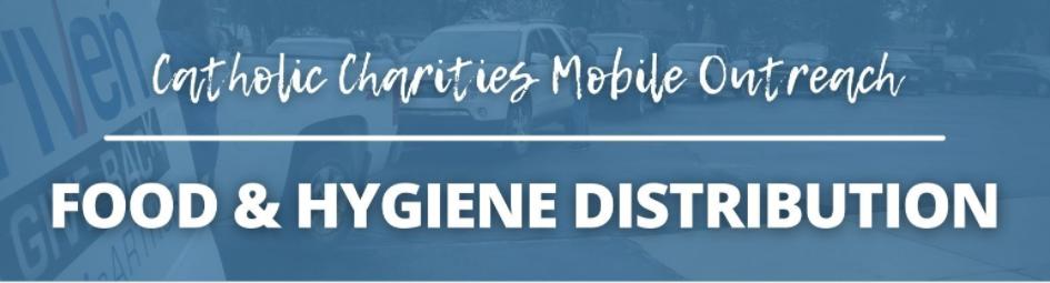 Catholic Charities Van in Beverly